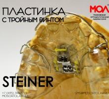 Пластинка с винтом Штейнера (Steiner) (трехмерный винт)